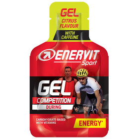 Enervit Sport Gel Box 24x25ml, Citrus with Caffeine